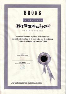 certificaat Kibbeling